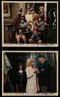 9s014 OUR MOTHER'S HOUSE 9 color English FOH LCs '67 Dirk Bogarde, Brooks, child cast!