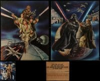 5d008 LOT OF 99 STAR WARS PROCTER & GAMBLE 19X23 SPECIAL POSTERS 1977 Ken Goldammer art!