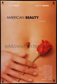 6r030 AMERICAN BEAUTY DS 1sh 1999 Sam Mendes Academy Award winner, sexy close up image!