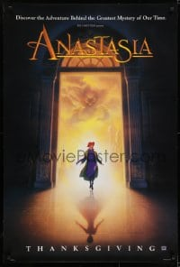 6r036 ANASTASIA style A advance DS 1sh 1997 Don Bluth cartoon about the missing Russian princess!