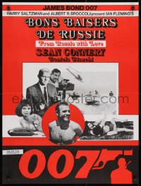 1t009 FROM RUSSIA WITH LOVE Swiss R1970s Sean Connery is the unkillable James Bond 007, different!