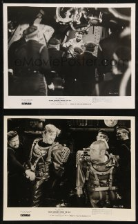 3g1140 20,000 LEAGUES UNDER THE SEA 2 8x10 stills R1963 Lorre, Douglas, Mason, Jules Verne classic!