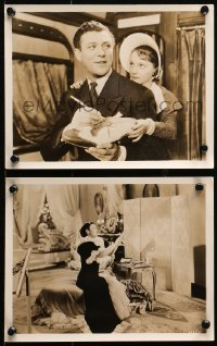 3g1145 ALL THE KING'S HORSES 2 8x10 stills 1935 romantic c/u's of Carl Brisson & Mary Ellis!