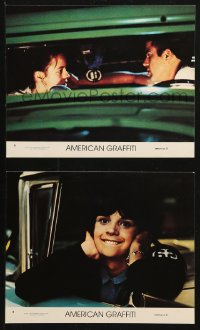 3g0830 AMERICAN GRAFFITI 2 8x10 mini LCs R1978 George Lucas teen classic, the time of your life!