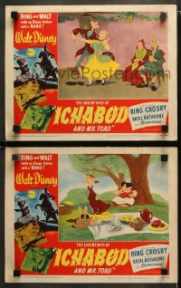 3g0673 ADVENTURES OF ICHABOD & MISTER TOAD 2 LCs 1949 BING and WALT wake up Sleepy Hollow w/ a BANG!