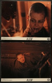 3g0054 ALIEN 3 8 color 11x14 stills 1992 David Fincher, great images of Sigourney Weaver as Ripley!