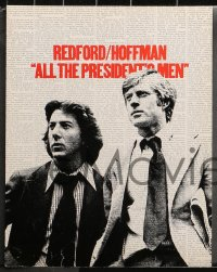 3g0005 ALL THE PRESIDENT'S MEN 13 color 11x14 stills 1976 Hoffman & Redford as Woodward & Bernstein!