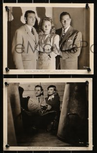 3g0903 ALAN CURTIS 14 8x10 stills 1930s-1960s cool portraits of the star from a variety of roles!