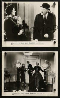 3g0891 AUNTIE MAME 16 8x10 stills R1963 classic Rosalind Russell family comedy from play and novel!