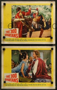 3g0045 300 SPARTANS 8 LCs 1962 Richard Egan, Diane Baker, the mighty battle of Thermopylae!