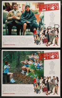 3g0059 AMERICAN PIE 2 8 LCs 2001 Jason Biggs, Seann William Scott, Eugene Levy!