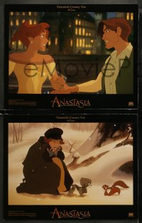 3g0017 ANASTASIA 10 LCs 1997 Don Bluth cartoon about the missing Russian princess!