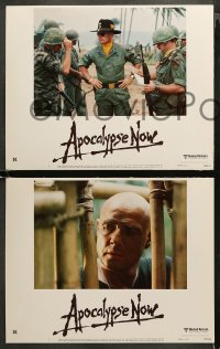 3g0063 APOCALYPSE NOW 8 LCs 1979 Francis Ford Coppola, Martin Sheen, best helicopter scenes!