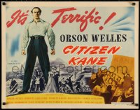 3k0016 CITIZEN KANE style A 1/2sh 1941 Orson Welles' masterpiece, he directed & starred, ultra rare!