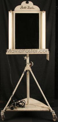 7a0004 BETTE DAVIS makeup stand 1930s she used this in her dressing room for decades, one of a kind!