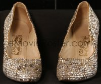 7a0002 MARILYN MONROE size 7 1/2B shoes 1960 she wore these Ferragamo pumps in Let's Make Love!