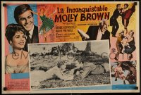 7b0010 UNSINKABLE MOLLY BROWN Mexican LC 1964 Debbie Reynolds on ground with Harve Presnell!