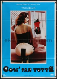 7c0011 ALL LADIES DO IT Italian 1p 1992 censored image of sexy woman wearing nearly nothing, rare!