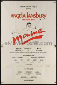 7j0036 MAME 41x64 stage play poster 1983 Angela Lansbury starring in the original Broadway musical!