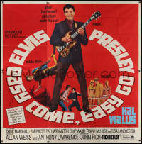 7j0074 EASY COME, EASY GO 6sh 1967 different image of scuba diver Elvis Presley & playing guitar!
