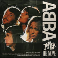 7j0023 ABBA: THE MOVIE English 6sh 1978 different images of all 4 Swedish band members, ultra rare!