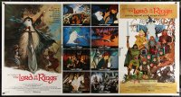 7j0012 LORD OF THE RINGS 1-stop poster 1978 Bakshi, classic J.R.R. Tolkien novel, different art!