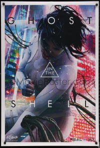 7m0004 GHOST IN THE SHELL 27x40 special poster 2017 completely different image of Johanson as Major!