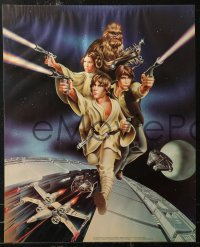7m0006 STAR WARS group of 2 19x23 special posters 1978 Goldammer art, Procter & Gamble tie-in!