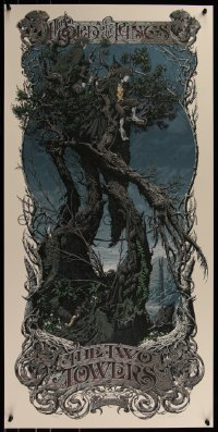8a0029 LORD OF THE RINGS: THE TWO TOWERS signed #264/487 19x39 art print 2013 regular edition!