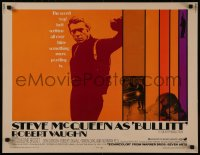 8d0028 BULLITT 1/2sh 1968 great close up of tough Steve McQueen, Peter Yates car chase classic!