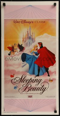 8f0411 SLEEPING BEAUTY Aust daybill R1987 Walt Disney cartoon fairy tale fantasy classic!