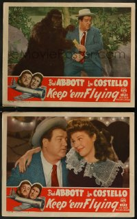 8g1203 KEEP 'EM FLYING 2 LCs R1949 Bud Abbott & Lou Costello in the United States Air Force!