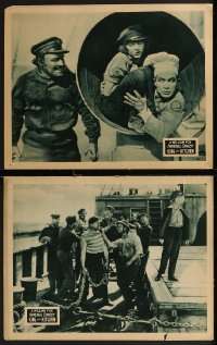 8g1207 KING OF THE KITCHEN 2 LCs 1926 great images of Della Peterson & Lige Conely, ultra rare!