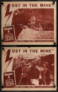 8g1232 PERILS OF THE ROYAL MOUNTED 2 chapter 8 LCs 1942 Columbia RCMP serial, Lost in the Mine!