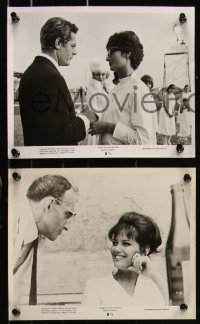 8g0037 8 1/2 20 8x10 stills 1963 Federico Fellini classic, great images of Marcello Mastroianni!