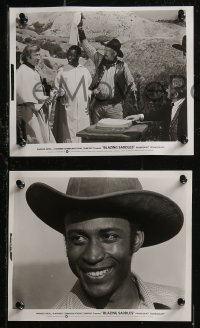 8g0002 BLAZING SADDLES 50 8x10 stills 1974 Mel Brooks western, Cleavon Little, Wilder, MANY images!