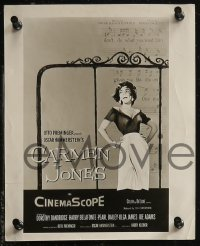 8g0020 CARMEN JONES 25 8x10 stills 1957 Otto Preminger, many images of sexy Dorothy Dandridge!