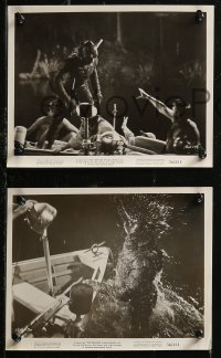 8g0187 CREATURE WALKS AMONG US 6 8x10 stills 1956 Jeff Morrow, Snowden, creature images!
