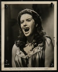 8g0194 KISS OF THE VAMPIRE 6 8x10 stills 1963 Hammer horror, summoned from the caves of Hell!