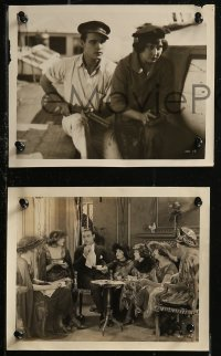 8g0197 MORAN OF THE LADY LETTY 6 8x10 stills 1922 weakling Valentino finds out he's a real man, rare!