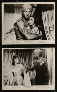 8g0043 PIRATE & THE SLAVE GIRL 20 8x10 stills 1961 swashbuckler Lex Barker & dancer Chelo Alonso!
