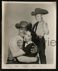 8g0005 SLIM CARTER 35 8x10 stills 1957 Jock Mahoney, Julie Adams, a heartwarming cowboy comedy!