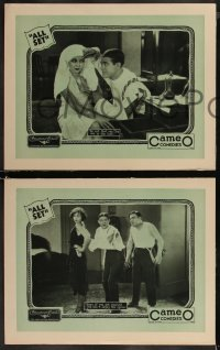8g1035 ALL SET 3 LCs 1928 Jack White's Cameo Comedies with Wallace Lupino, Hutton, ultra rare!