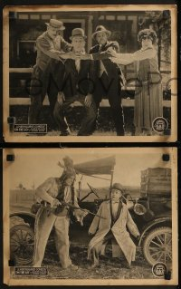 8g1011 ON THE GO 4 LCs 1925 great images of wacky Bobby Ray with Komedy Kast, ultra rare!