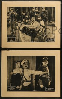 8g1029 WHEN A MAN'S A PRINCE 4 LCs 1926 wacky royal Ben Turpin forced to marry, ultra rare!