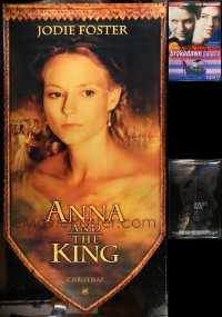 8h0432 LOT OF 3 VINYL BANNERS 1999 Anna and the King, Astronaut's Wife, Brokedown Palace!