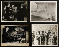 8h0421 LOT OF 4 8X10 REPRO PHOTOS 1980s scenes from Mummy, Day the Earth Stood Still & more!