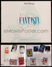 8h0212 LOT OF 16 FANTASIA R90 SOUVENIR PROGRAM BOOKS R1990 Disney musical cartoon classic!