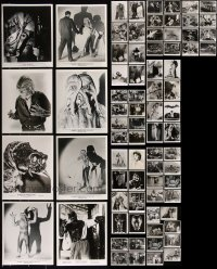 8h0414 LOT OF 76 HORROR/SCI-FI 8X10 REPRO PHOTOS 1980s wonderful monster & special effects images!