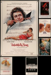 8h0443 LOT OF 6 1980S 40X60S 1980s great images from a variety of different movies!